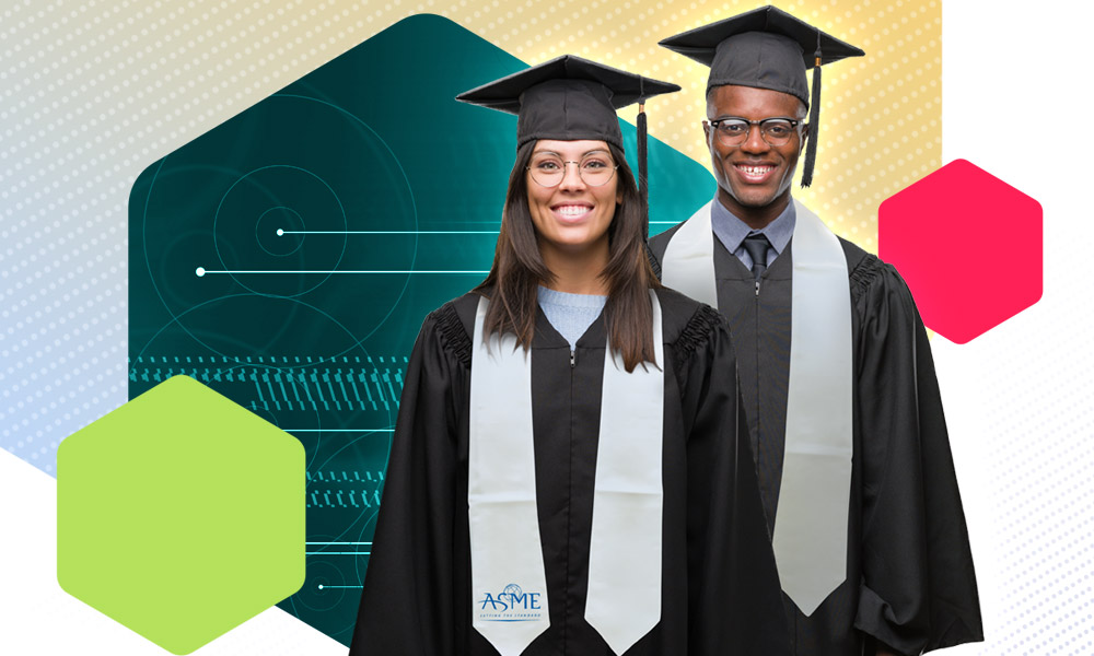 ASME Graduation Stoles available eBlast header
