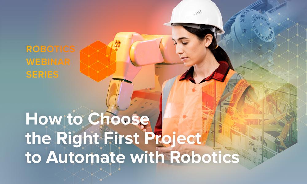 Robotics Webinar Series eBlast header