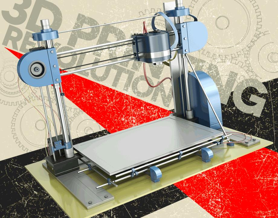 3D-printer Revolution article