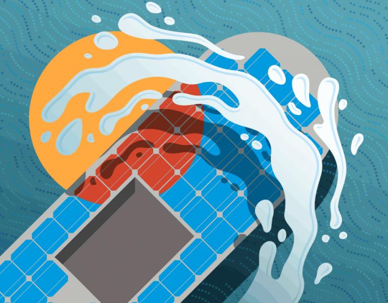 Making Solar Splash article