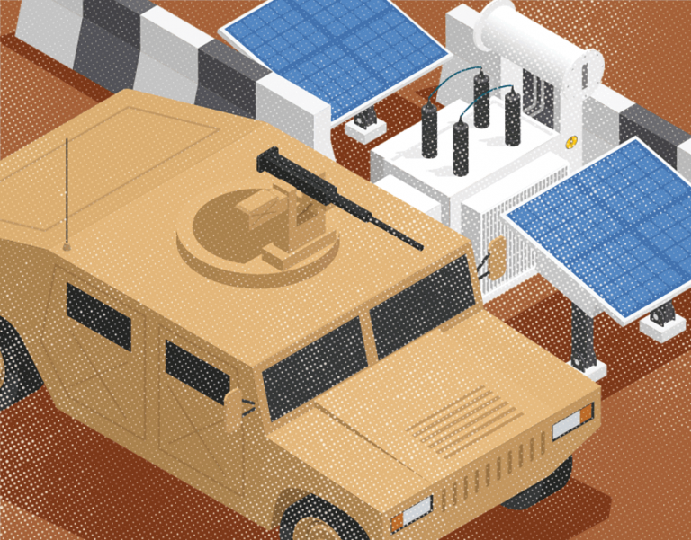 Military Looks to Renewables in Battle Zones article