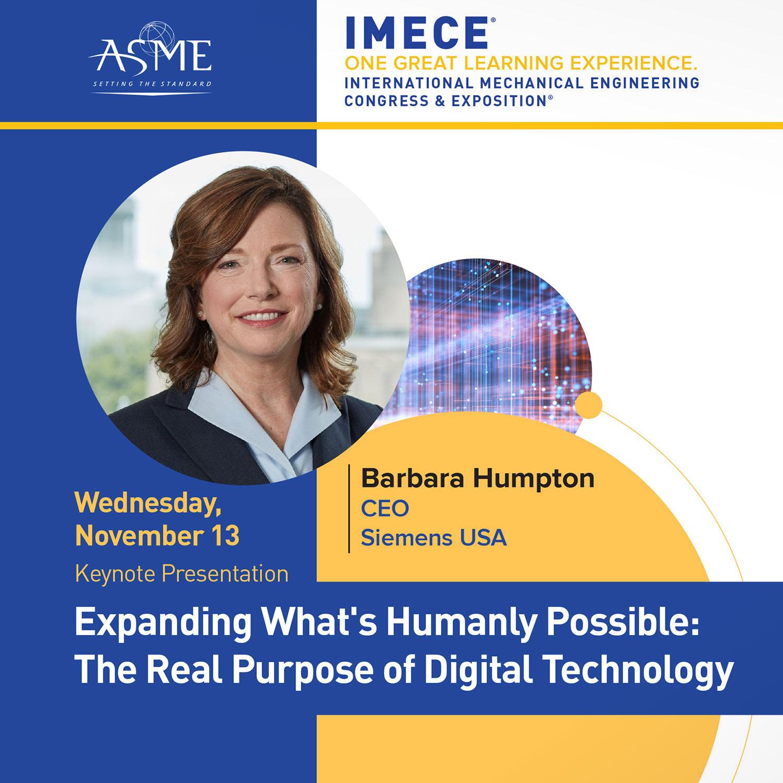 IMECE Keynote poster