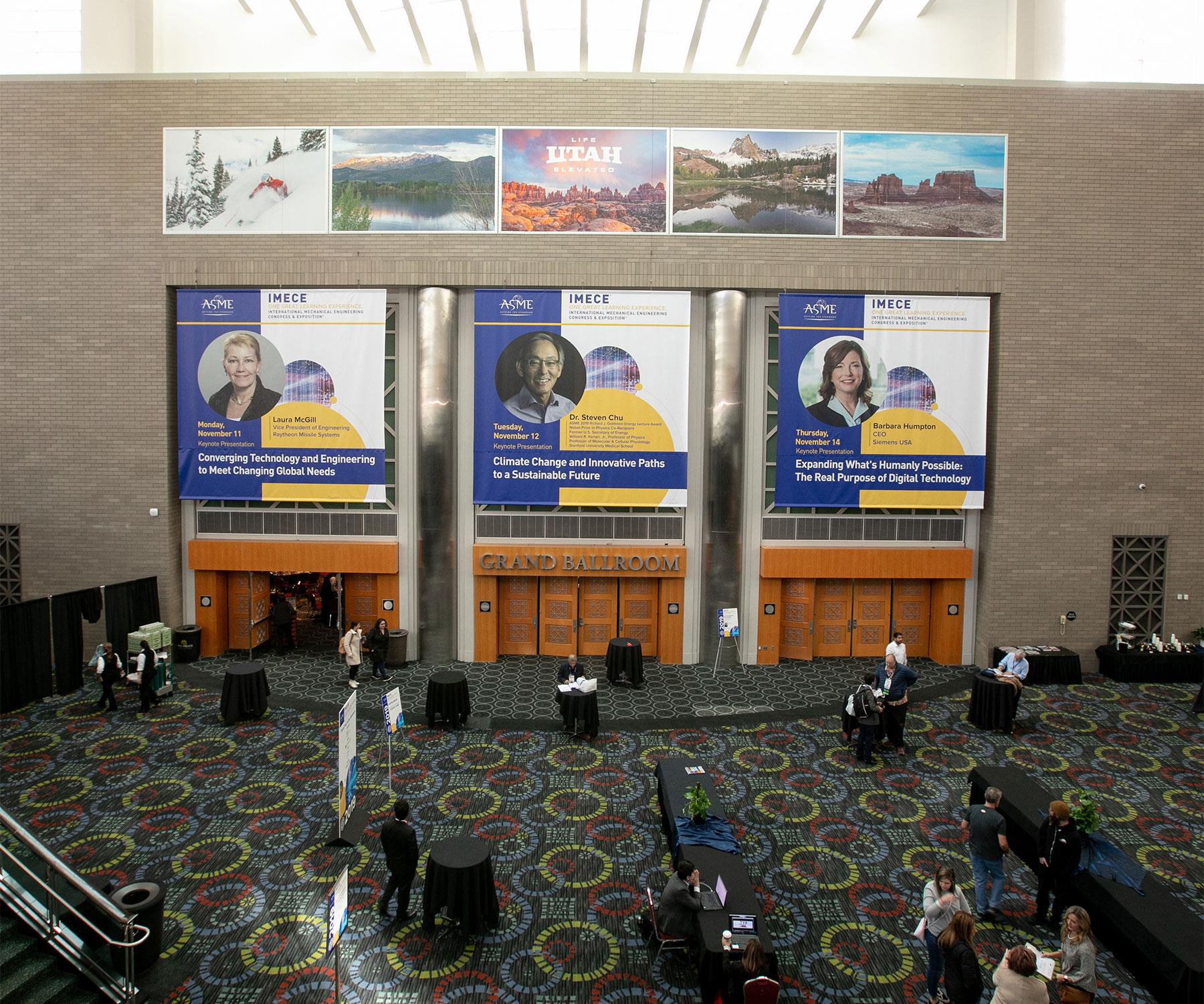 3 Keynote posters at IMECE Hall