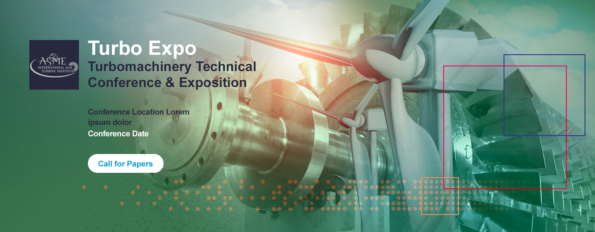 TurboExpo 2020 Conference landing page header