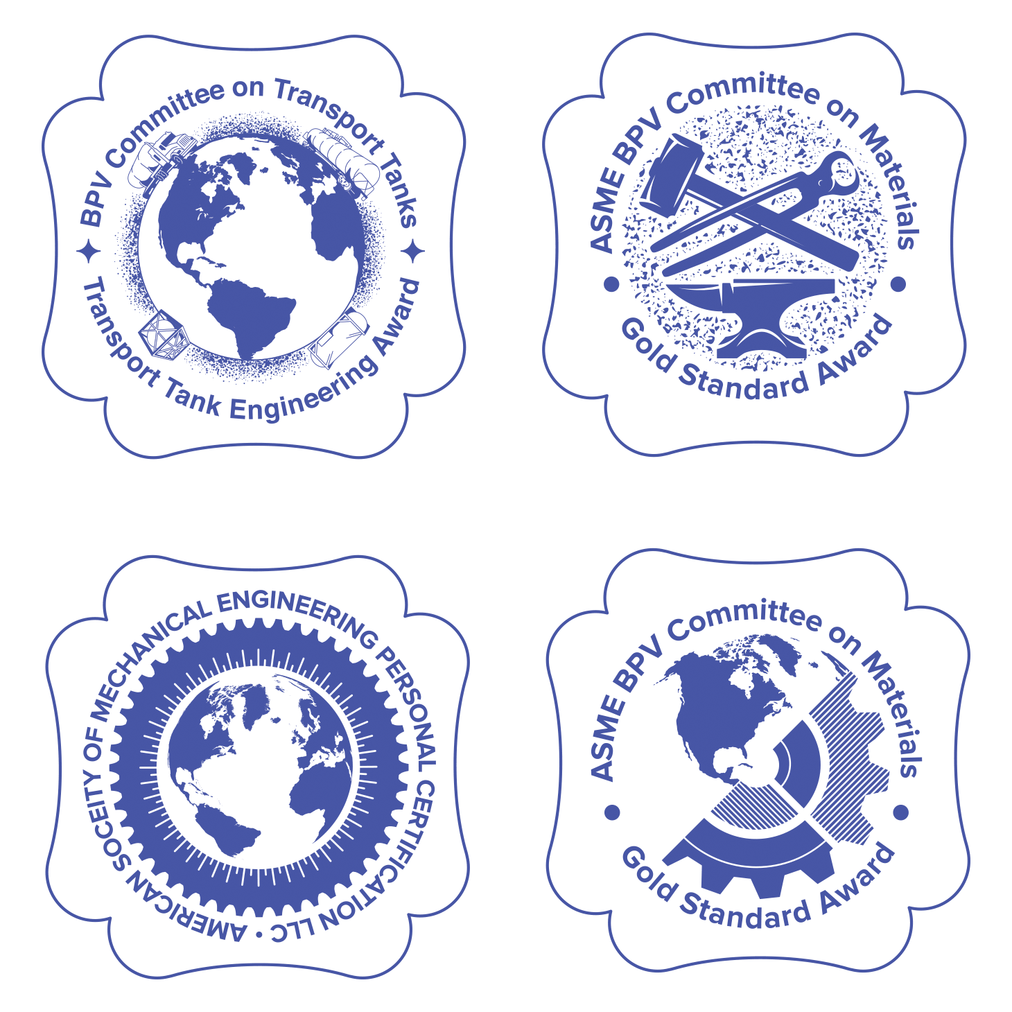 Bronze medal designs